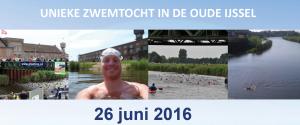 Zwemtocht Oude IJssel op 26 juni
