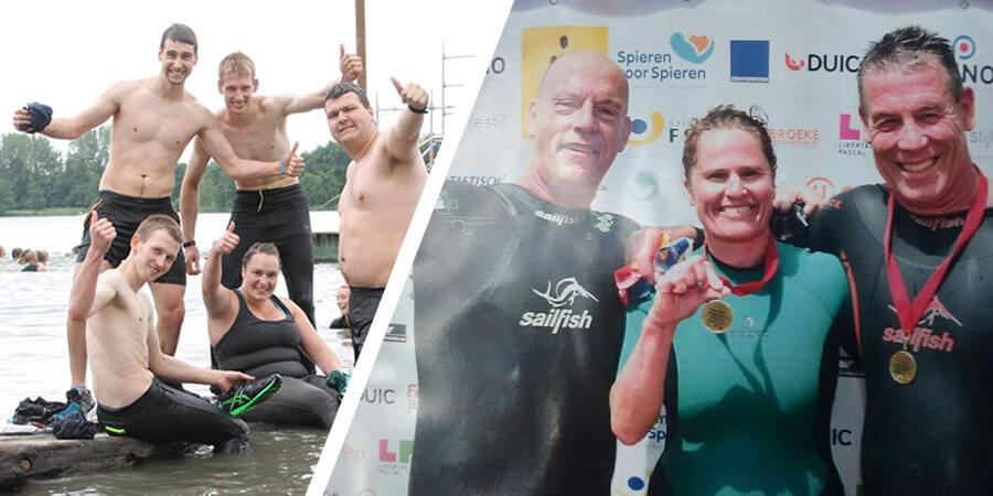 Weekend vol sportieve waterpolo prestaties